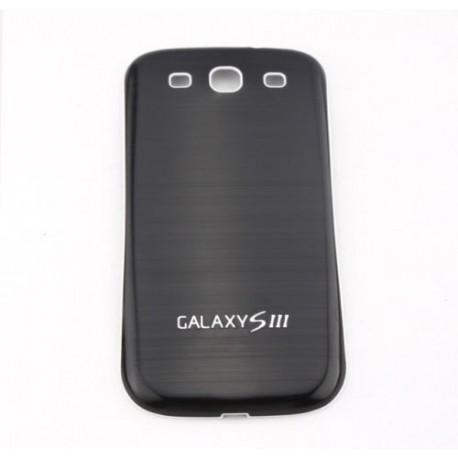 Samsung Galaxy S3 i9300 - Zadní kryt baterie - Hliník - Černý