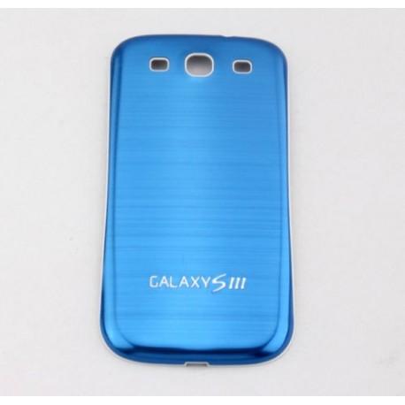 Samsung Galaxy S3 i9300 - Zadní kryt baterie - Hliník - Modrý
