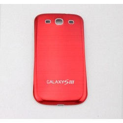 Samsung Galaxy S3 I9300 - The rear battery cover - Aluminium - Red