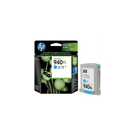 HP 940XL cyan C4907A - the original cartridges