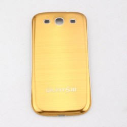 Samsung Galaxy S3 I9300 - The rear battery cover - Aluminium - Yellow