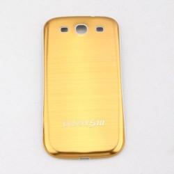 Samsung Galaxy S3 i9300 - Zadní kryt baterie - Hliník - Žlutá