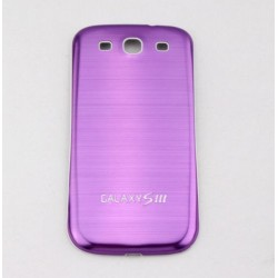 Samsung Galaxy S3 I9300 - The rear battery cover - Aluminium - Purple