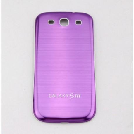 Samsung Galaxy S3 i9300 - Zadní kryt baterie - Hliník - Fialová