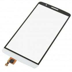LG D850 D855 D857 D859 G3 - Bílá dotyková vrstva, dotykové sklo, dotyková deska + flex - OEM