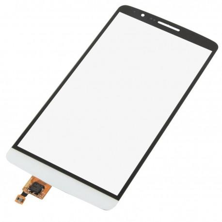 LG D850 D855 D857 D859 G3 - Bílá dotyková vrstva, dotykové sklo, dotyková deska + flex