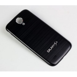 Samsung Galaxy S4 i9500 - The rear battery cover - Aluminium - Black