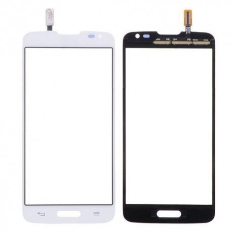 LG L90 D410 - Bílá dotyková vrstva, dotykové sklo, dotyková deska + flex