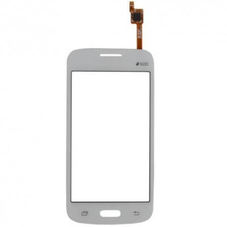Samsung Galaxy Core Plus G350 SM-G350 - Bílá dotyková vrstva, dotykové sklo, dotyková deska + flex