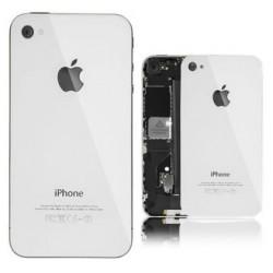 Apple iPhone 4 4S - Bílá - Zadní kryt baterie