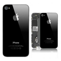 Apple iPhone 4 4S - Black - rear battery cover