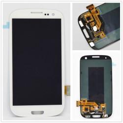 Samsung Galaxy S3 i9300 - Bílý - LCD displej + dotyková vrstva, dotykové sklo, dotyková deska - OEM