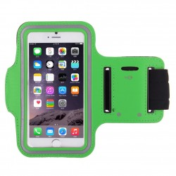 Samsung Galaxy S4 mini i9190 i9195 - Sportovní pouzdro na ruku, Barva: Zelená