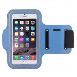 Samsung Galaxy S4 mini i9190 i9195 - Sportovní pouzdro na ruku, Barva: Světle modrá