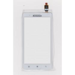 Lenovo A536 - Bílá dotyková vrstva, dotykové sklo, dotyková deska + flex - OEM