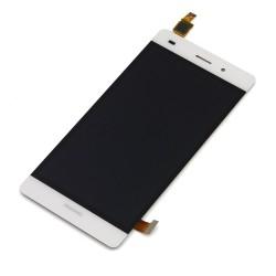 Huawei Ascend P8 Lite - Bílý LCD displej + dotyková vrstva, dotykové sklo, dotyková deska