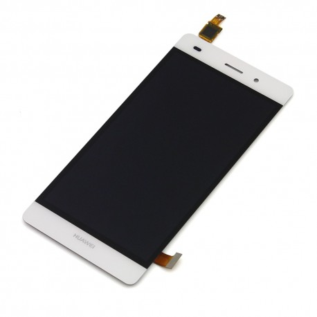 Huawei Ascend P8 Lite - White - LCD display + touch layer touch glass touch panel