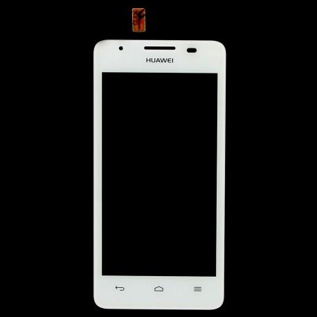 Huawei Ascend G510 G520 G525 U8951 T8951 - Bílá dotyková vrstva, dotykové sklo, dotyková deska + flex