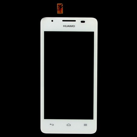 Huawei Ascend G510 G520 G525 U8951 T8951 - White touch layer touch glass touch panel + flex