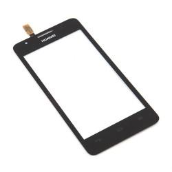 Huawei Ascend G510 G520 G525 U8951 T8951 - Čierna dotyková vrstva, dotykové sklo, dotyková doska + flex