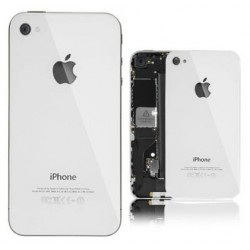 Apple iPhone 4 - White - rear battery cover