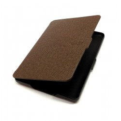 Kindle Paperwhite - hnedé puzdro na čítačku kníh - magnetické - PU koža - ultratenký pevný kryt