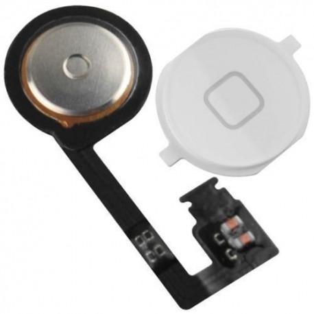 iPhone 4S tlačítko - home button - Bílá
