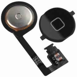 iPhone 4S tlačítko - home button - Černá