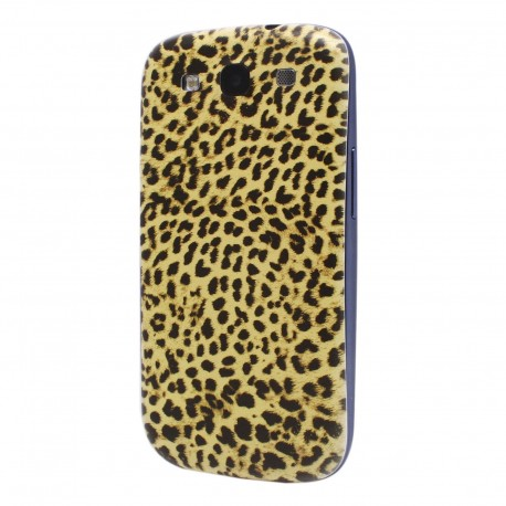 Samsung Galaxy S3 I9300 - The rear battery cover - Leopard