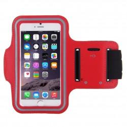 Samsung Galaxy S4 mini i9190 i9195 - Sportovní pouzdro na ruku, Barva: Červená