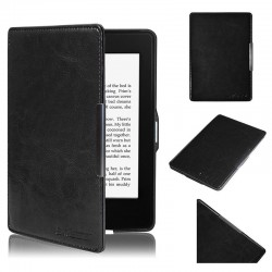 Kindle Paperwhite 1 2 - black holster Swees reader of books - Magnetic - PU leather - an ultra-thin hard cover