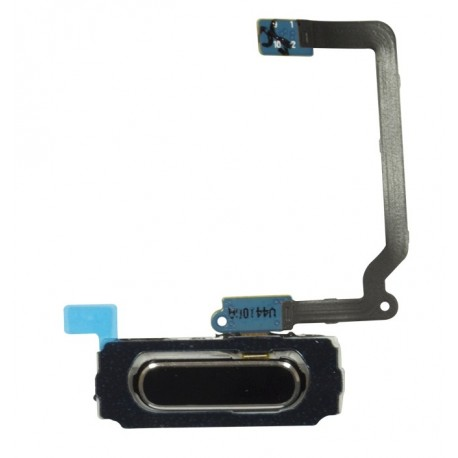 "Home button / key ""home"" for Samsung Galaxy S5 i9600 G900A G900T G900V - Black - flex cable"