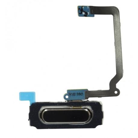 """Home button / tlačítko """"domů"""" pro Samsung Galaxy S5 i9600 G900A G900T G900V - černá - flex kabel"""