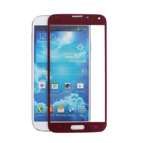Samsung i9600 Galaxy S5 - Red touch layer touch glass touch panel