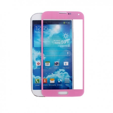 Samsung i9600 Galaxy S5 - Pink touch layer touch glass touch panel