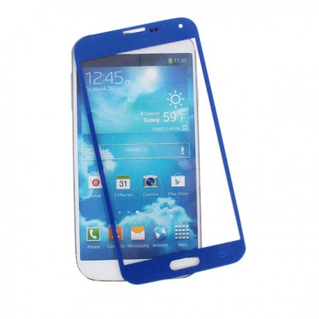 Samsung i9600 Galaxy S5 - Blue touch layer touch glass touch panel