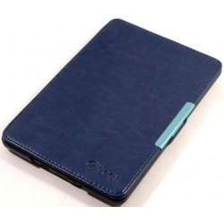 Kindle 4 / 5 - C-Tech modré pouzdro na čtečku knih - PU kůže - ultratenký pevný kryt