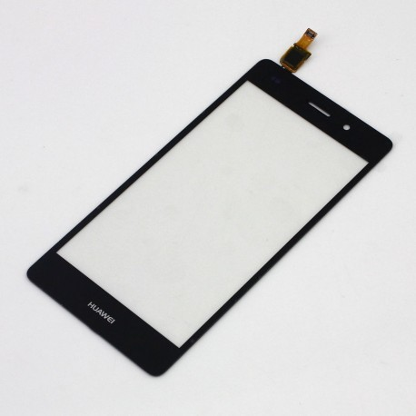Huawei Ascend P8 Lite - Black touch layer touch glass touch panel + flex