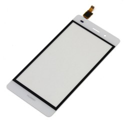 Huawei Ascend P8 Lite - White touch layer touch glass touch panel + flex