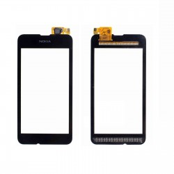 Nokia Lumia 530 - Černá dotyková vrstva, dotykové sklo, dotyková deska + flex