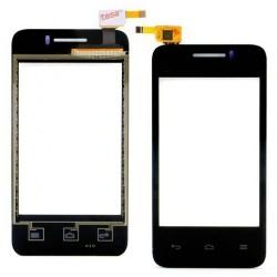 Huawei Ascend Y220 - Čierna dotyková vrstva, dotykové sklo, dotyková doska + flex