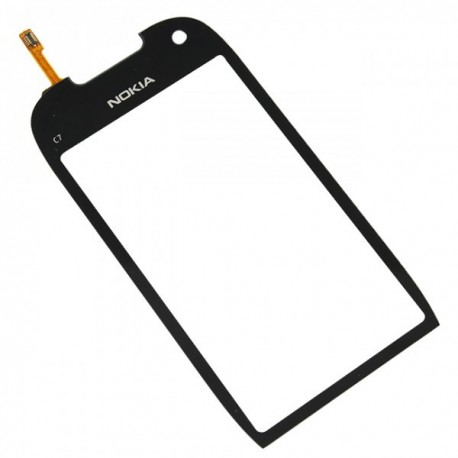 Nokia C7 C7-00 C700 - Black touch layer touch glass touch panel + flex