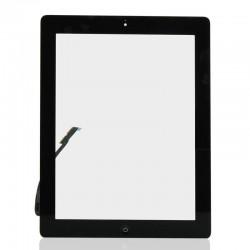 Apple iPad 3 + home button - Černá dotyková vrstva, dotykové sklo, dotyková deska pro tablet - OEM