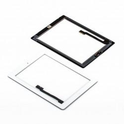 Apple iPad 3 + home button - Bílá dotyková vrstva, dotykové sklo, dotyková deska pro tablet