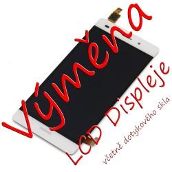 Výměna LCD včetně dotykové vrstvy Huawei Ascend P8 Lite, Barva: Bílá