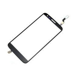 LG Optimus G2 D800 D801 D803 - Čierna dotyková vrstva, dotykové sklo, dotyková doska + flex