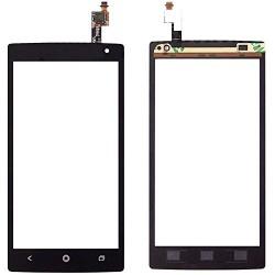 Acer Liquid Z5 Z150 - Černá dotyková vrstva, dotykové sklo, dotyková deska + flex - OEM