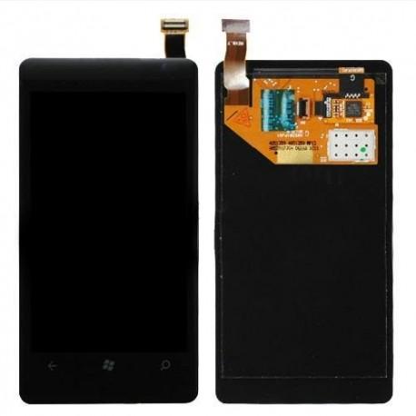 Nokia Lumia 800 - LCD displej + dotyková vrstva, dotykové sklo, dotyková deska