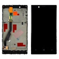 Nokia Lumia 720 - LCD displej s rámečkem + dotyková vrstva, dotykové sklo, dotyková deska - OEM