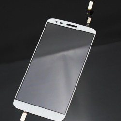 LG Optimus G2 D800 D801 D803 - Bílá dotyková vrstva, dotykové sklo, dotyková deska + flex - OEM